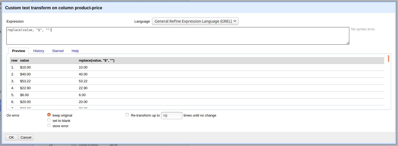 Data-Transformation-With-Open-Refine-Deleting-Strings-Web-Scraper-Blog