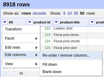 Data-Transformation-With-Open-Refine-Re-Order-Remove-Columns-Web-Scraper-Blog